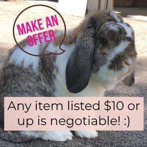 Make an offer! 💖